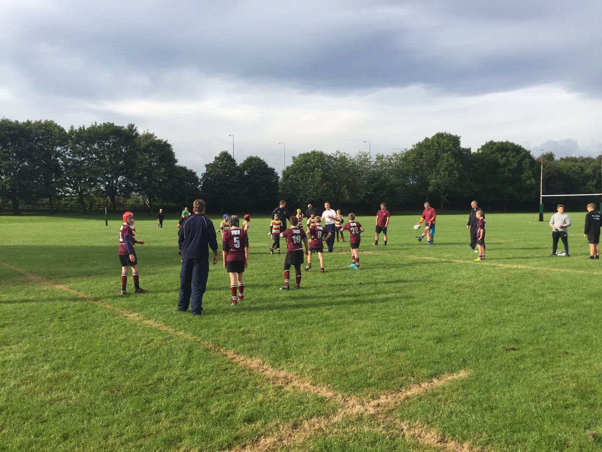 Morley vs sandal @ Rodillian rugby trials! #sport #rugby #resilience