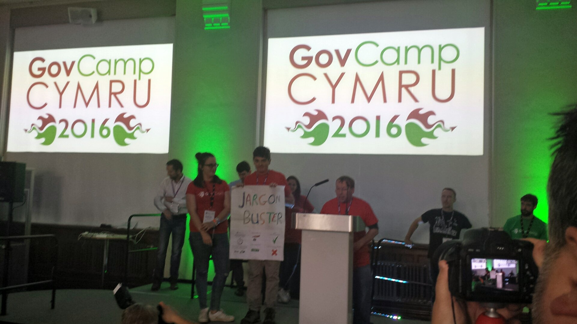Making our govcamp pitch for jargon busters #gccy16 https://t.co/QejMkRv29x