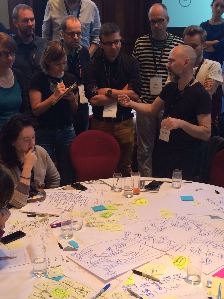 The moment the plan comes together. Workshop with @resmini #euroia16 https://t.co/3eS6i6jE3f