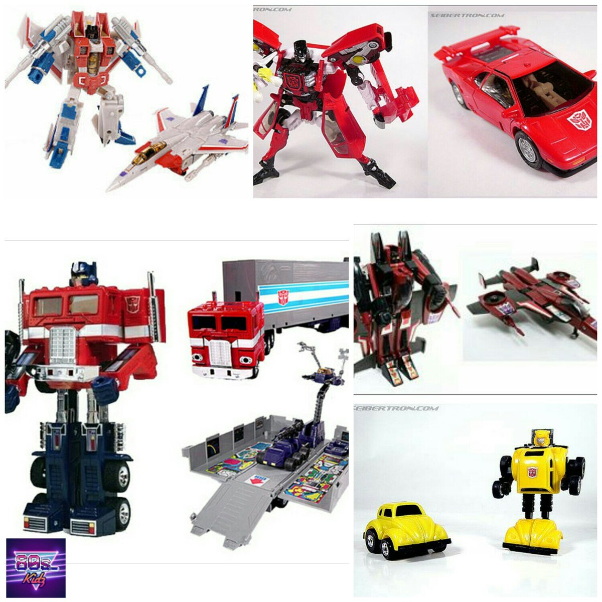 80s kidz on twitter how many of these original transformers did