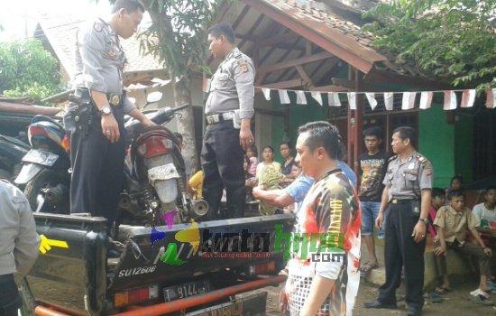 Gerebeg Judi Sabung Ayam, Polisi Amankan 6 Orang, 6 Ayam dan 13 Motor dari Ciasem