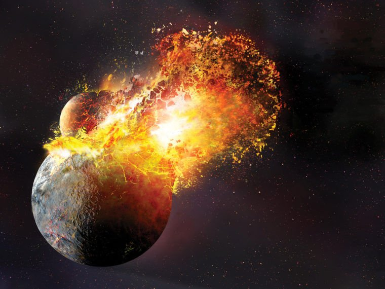 #Moon's Birth May Have Vaporized Most of #Earth, Study Shows  https://t.co/CghH51PMXF