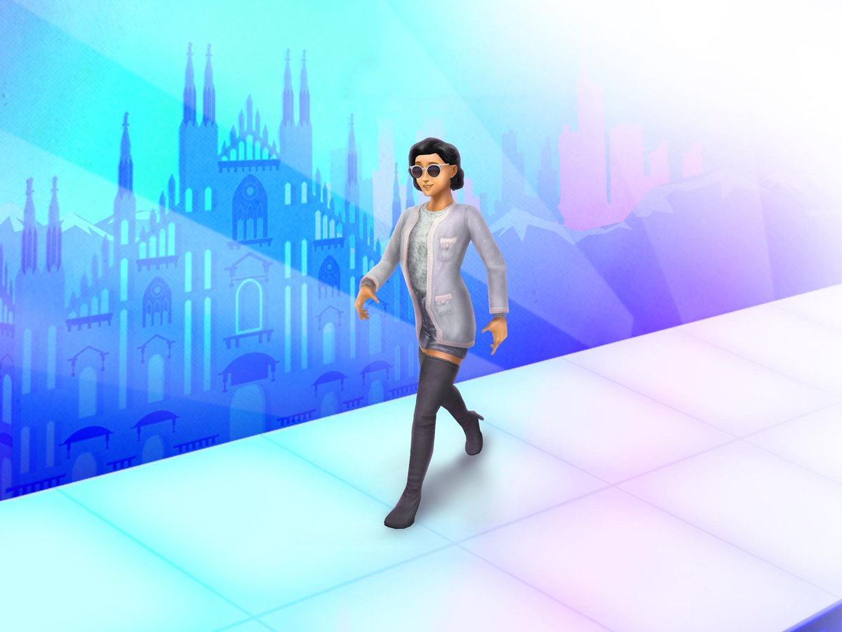 The Sims Freeplay On Twitter Ciao Simmers Grab That Milan Swag And Up Your Sims Fashion Game