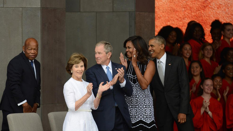 Thousands attend opening of National Museum of African American History and Culture. Photos