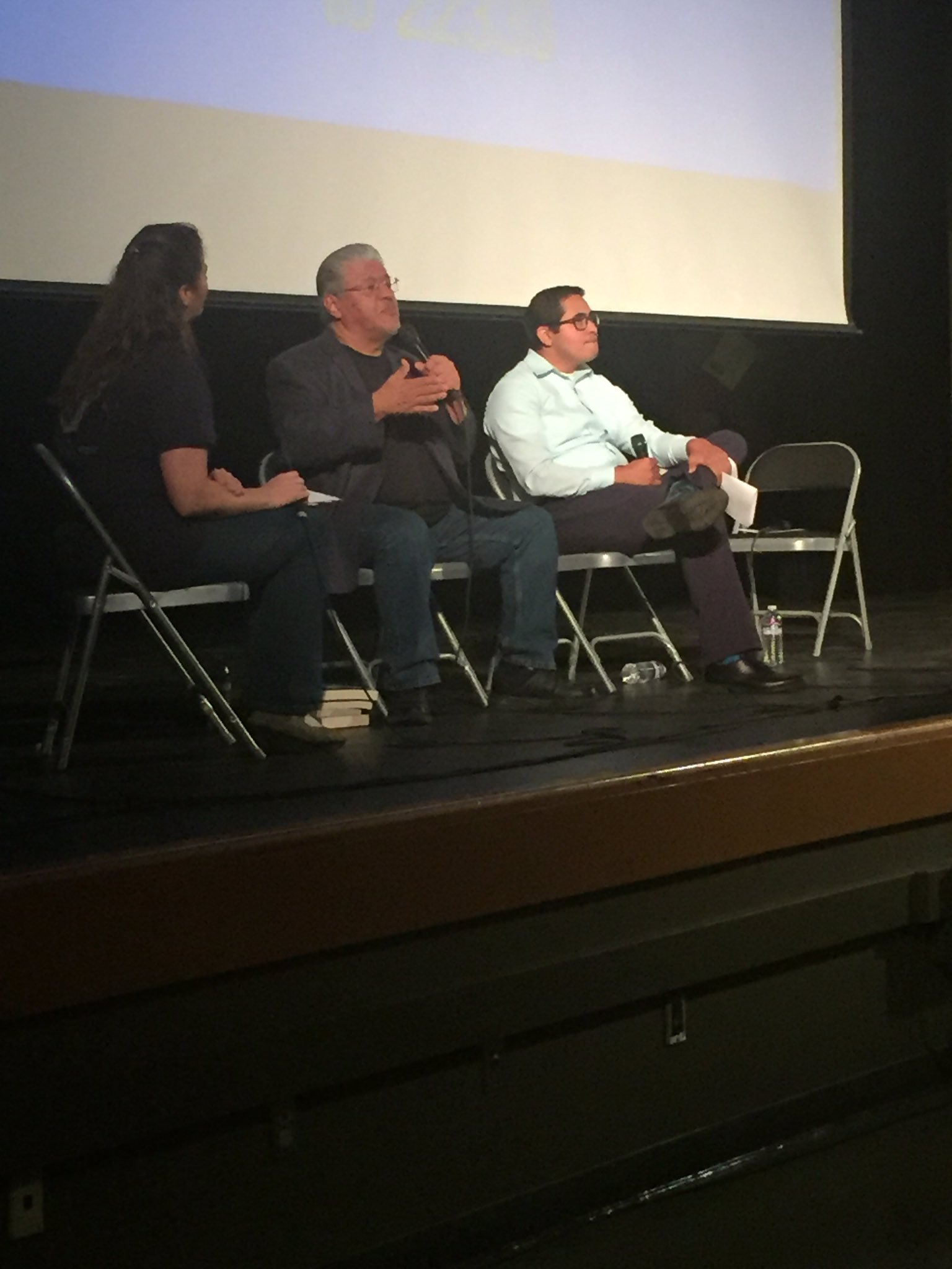 How can we 'see' the invisible among us? @MKHtweet w @luisjrodriguez & @LAHomeless rep Ramon Flores. #empathyLA https://t.co/OLC0vwiHNc