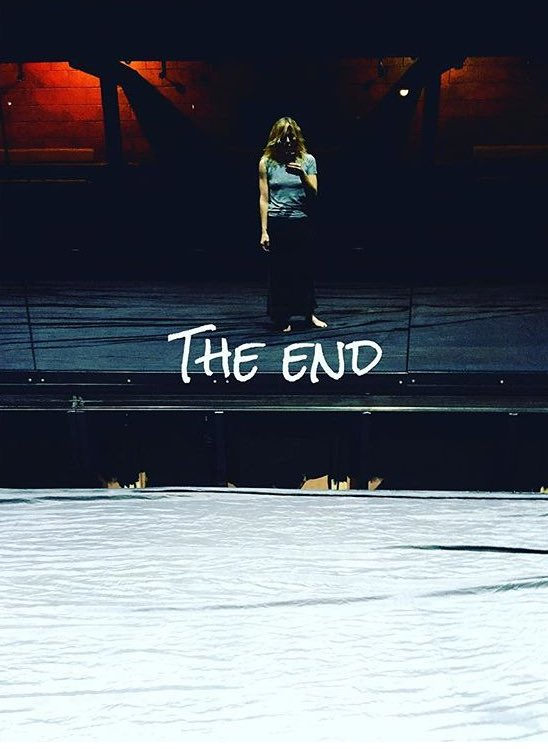 Goodbye ... You've meant the world to me .... #yerma #youngvic ❤️❤️ https://t.co/S1zGMVRkba