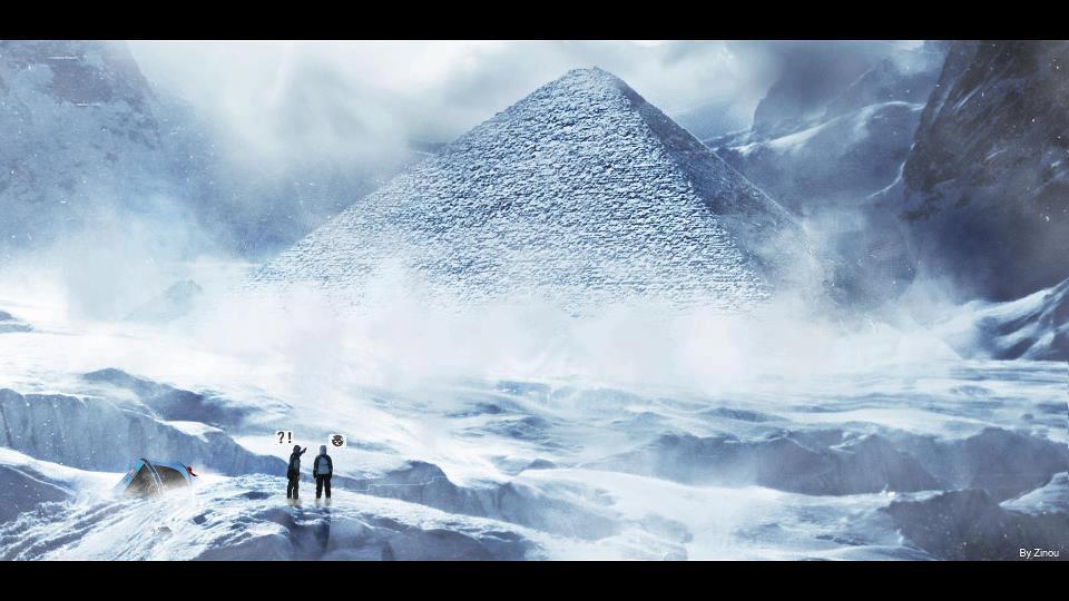 Piramidi aliene? Le misteriose piramidi dell'Antartide che hanno dato vita a svariate teorie