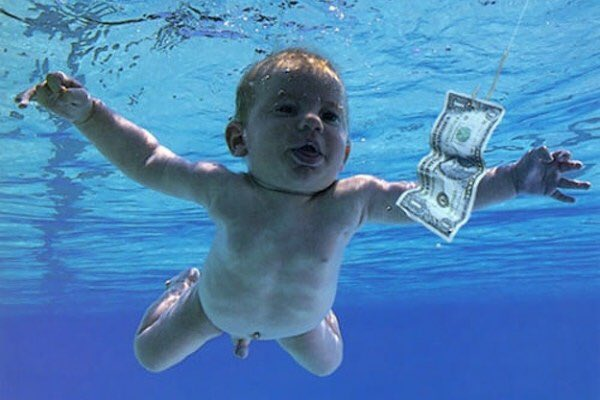 Spencer Elden, the baby on Nirvana's Nevermind, recreates album cover 25 years later. https://t.co/EpvzhtDcvC