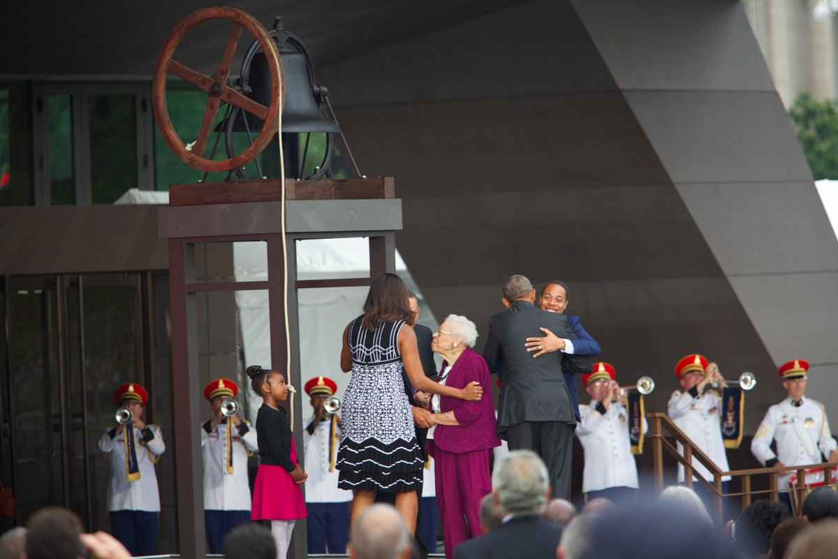 We are officially open to the world! Thank you for joining us. #APeoplesJourney #MakingHistory https://t.co/IR2O3Ot7ZK