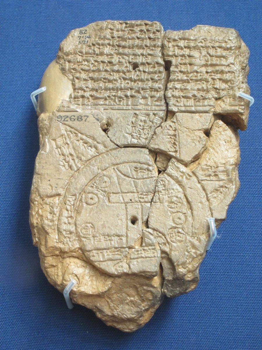 The Ancient World On Twitter Babylonian Map Of The World C 5th