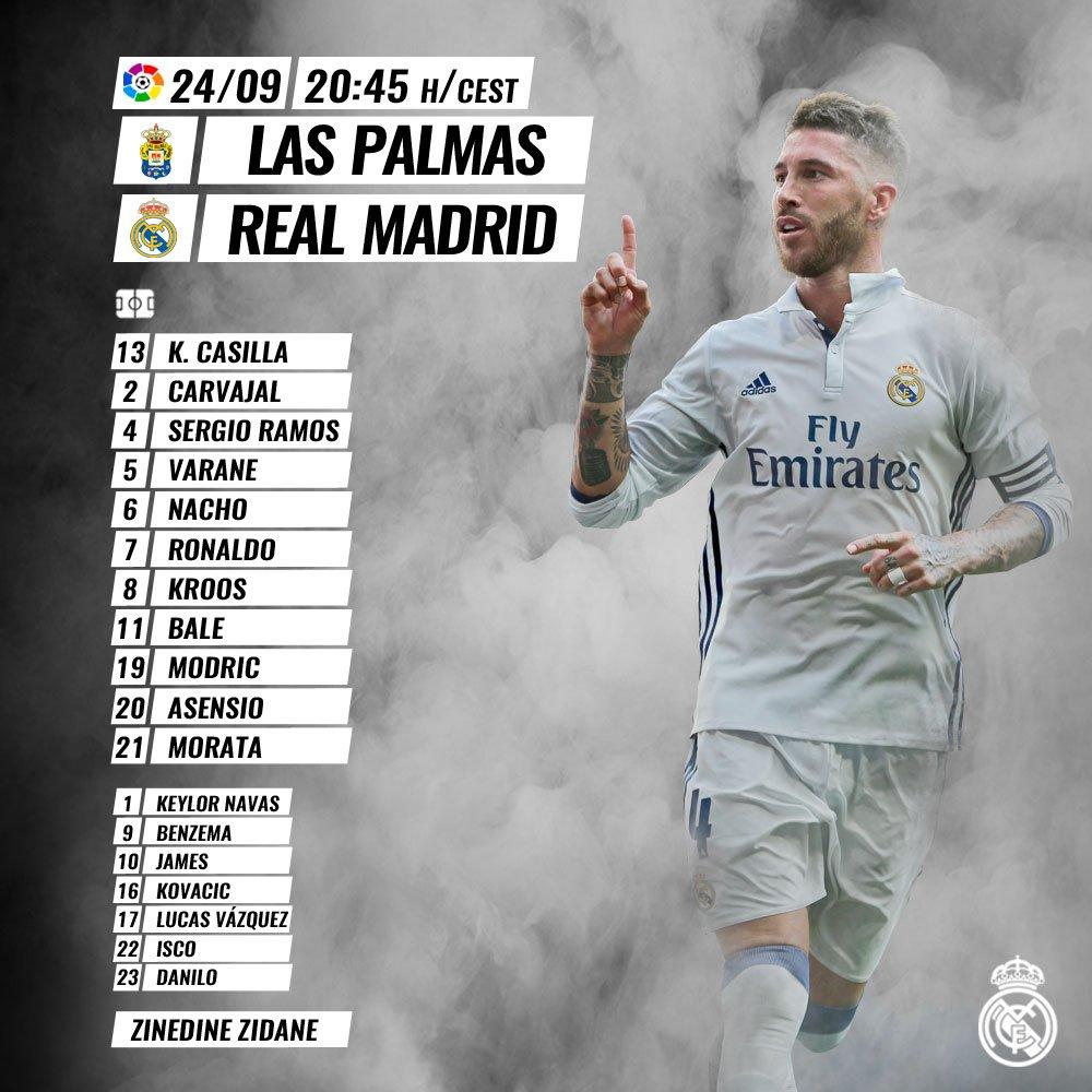 Las Palmas v Real Madrid  CtIsTVXW8AExmro
