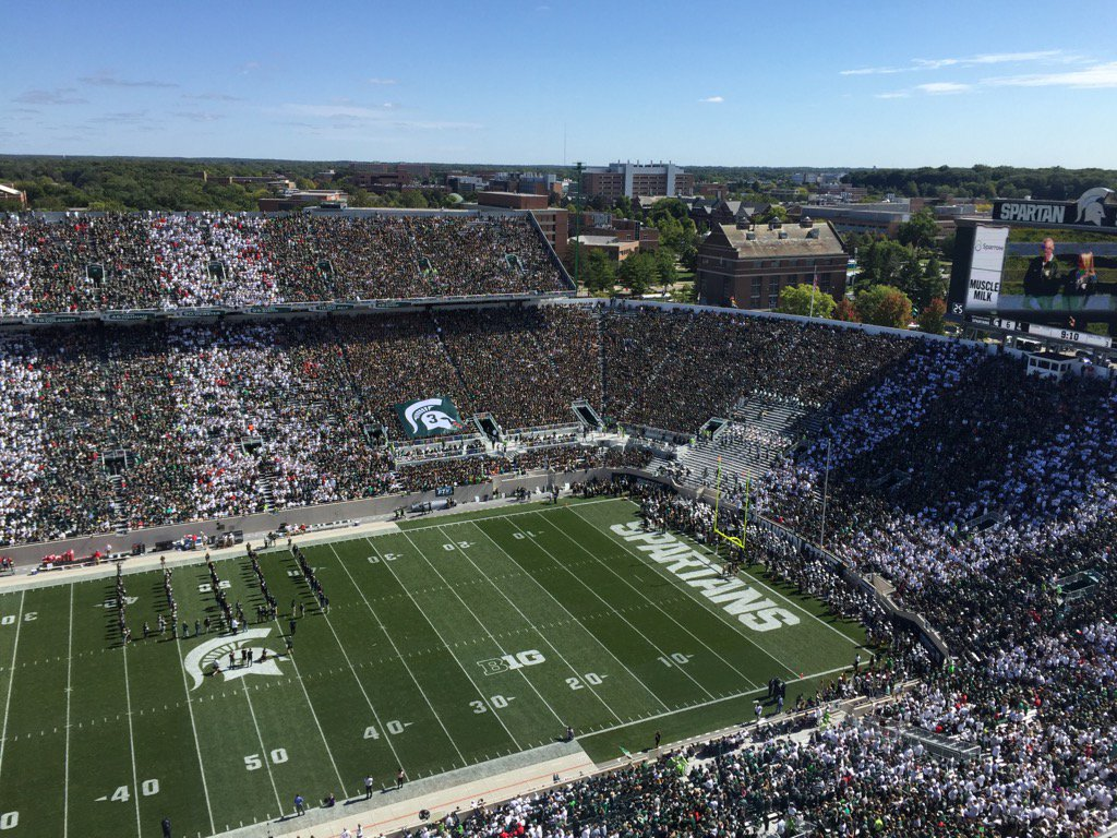 Michigan State Football On Twitter The Msu Student Section