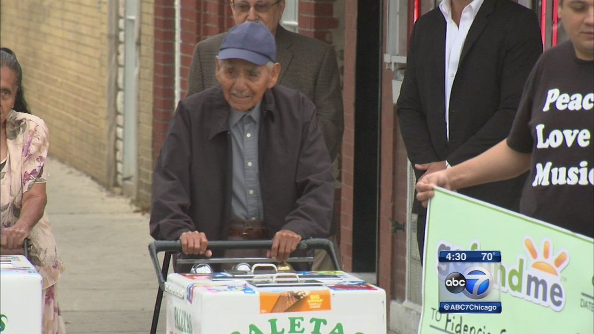 Elderly vendor given over $380K from GoFundMe campaign abc13