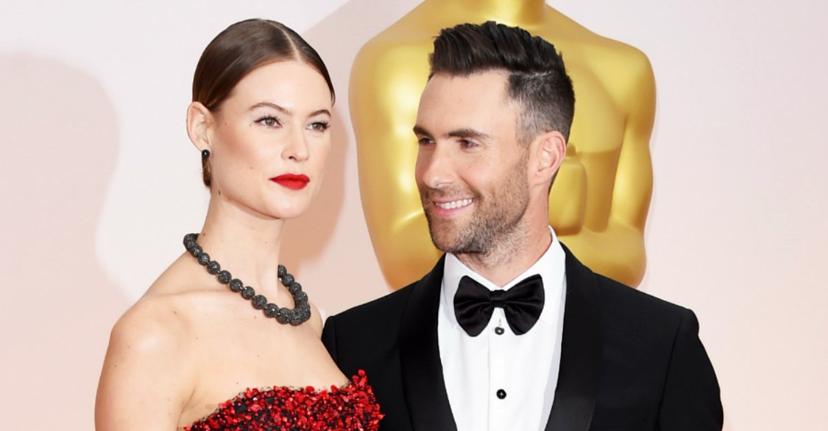 Adam Levine and Behati Prinsloo share first photo of their new baby