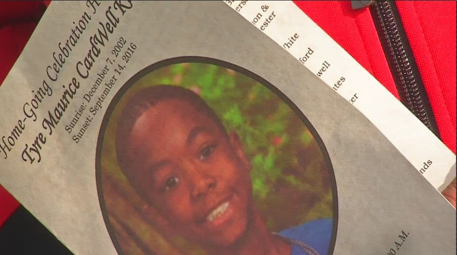 Hundreds gather to attend 13-year-old Tyre King's funeral in Columbus