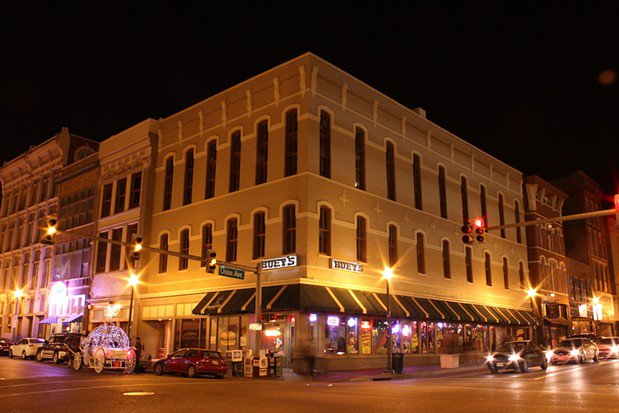 Huey's Downtown to Mark 20 Years, etc.
