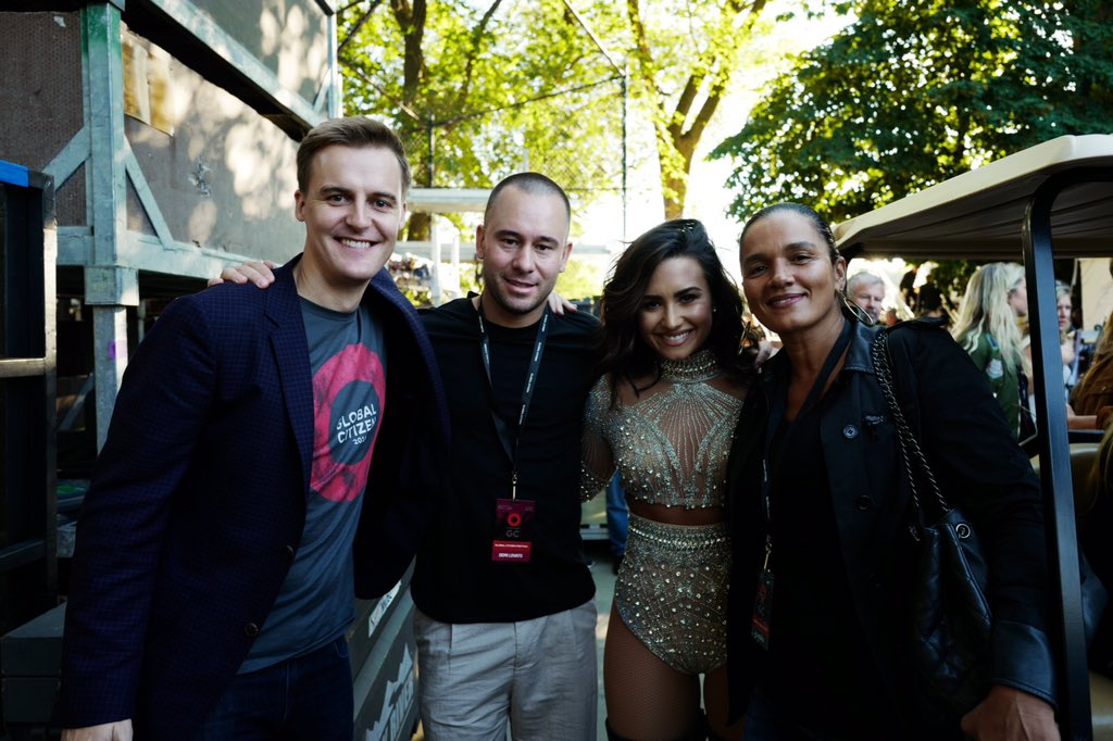 Huge thanks to @ddlovato for her support today and for joining us in the fight for gender equality. #GCFestival https://t.co/ARiy7WAZdd