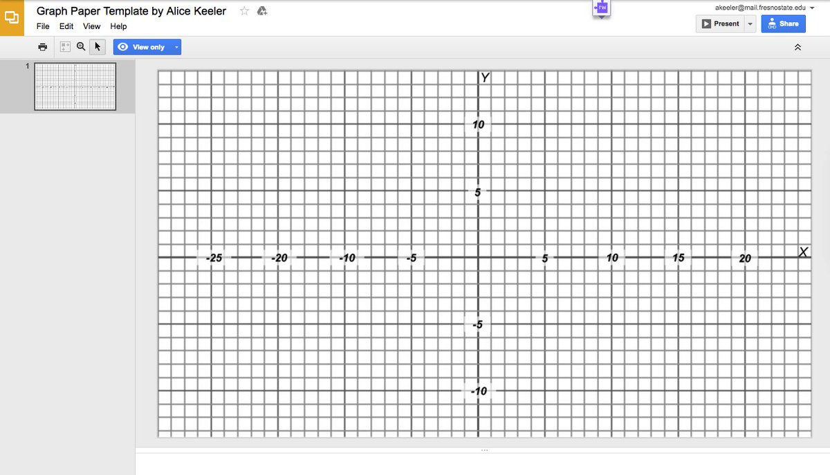 worksheet Graph Paper With Numbers Up To 20 alice keeler on twitter google slides graph paper template httpst cov4qwbpkmth googleedu googlemath mathchat coh