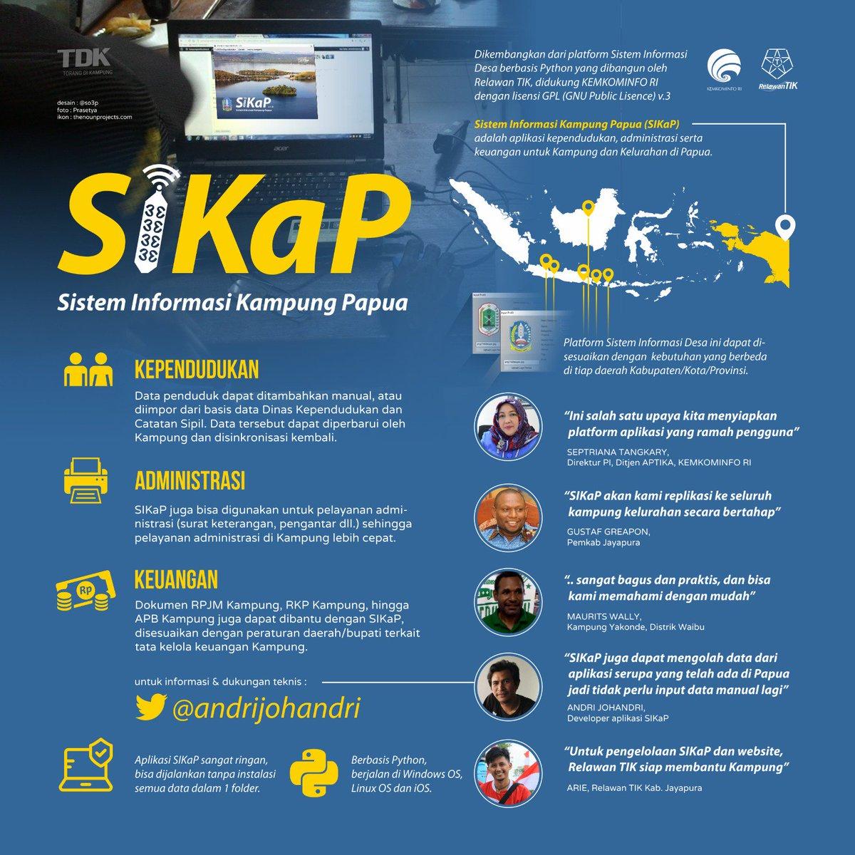 Destika Pembangunan Desa Internet Di Papua