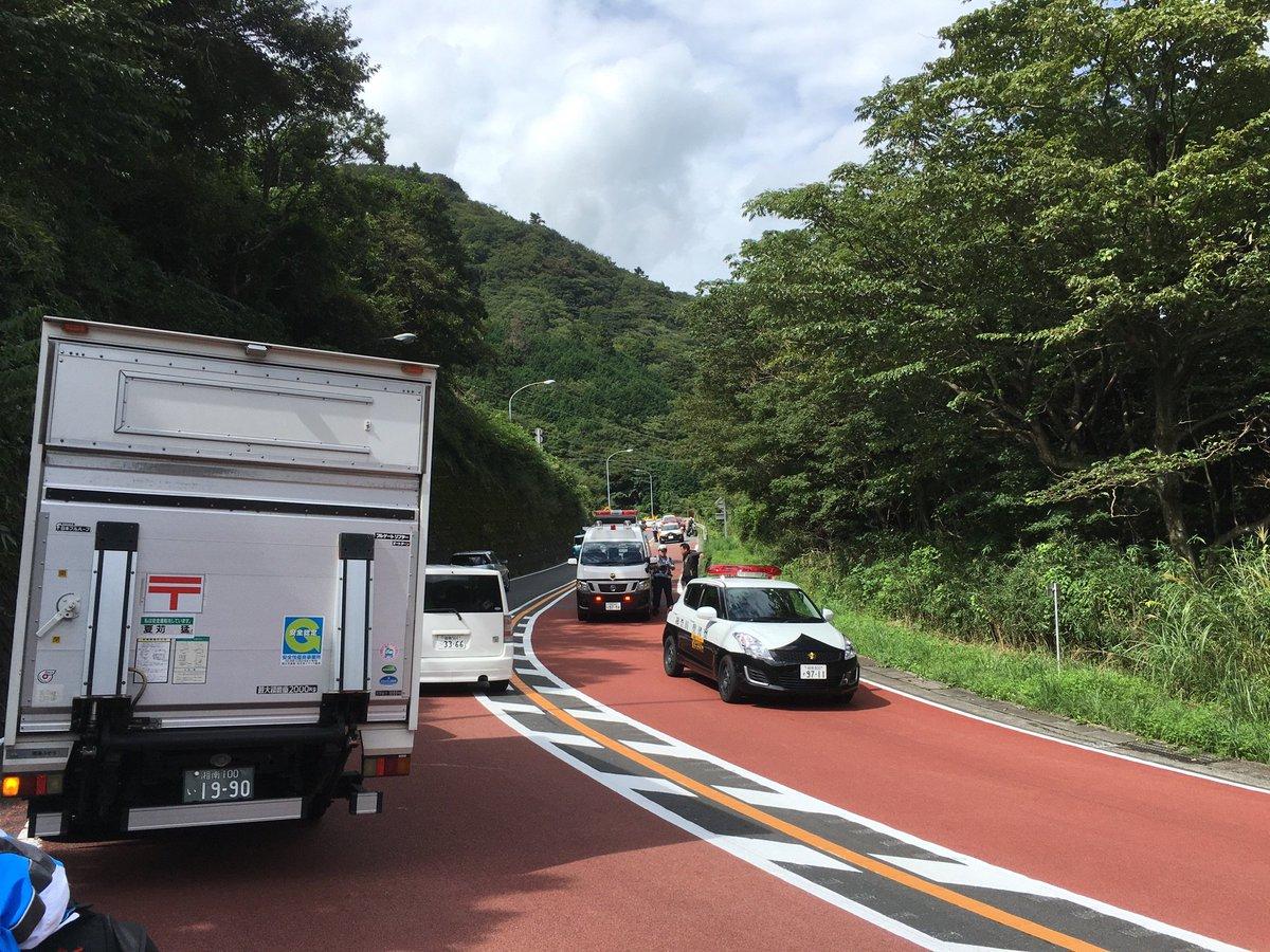 箱根新道の現在 https://t.co/1gDBXz51eI