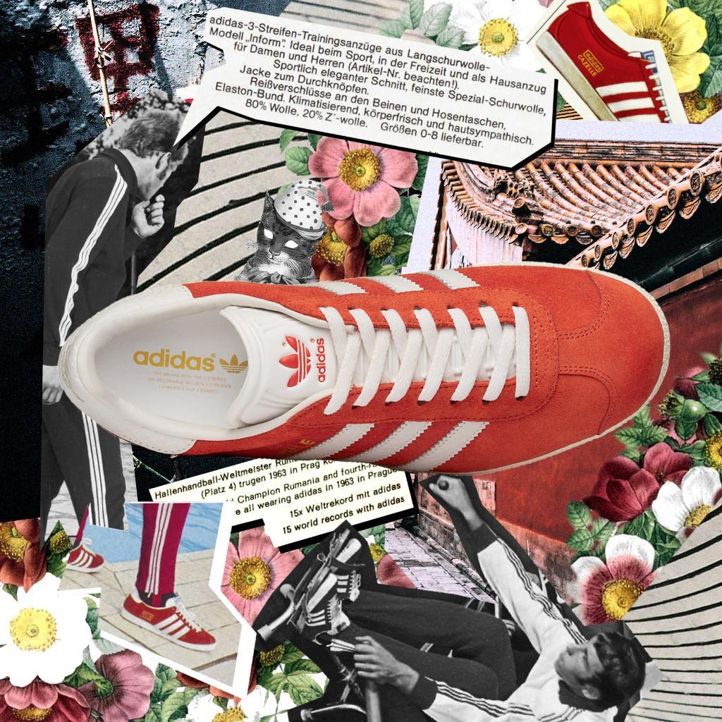 Big Sale Adidas Originals Gazelle Retro Shoes Schokolade
