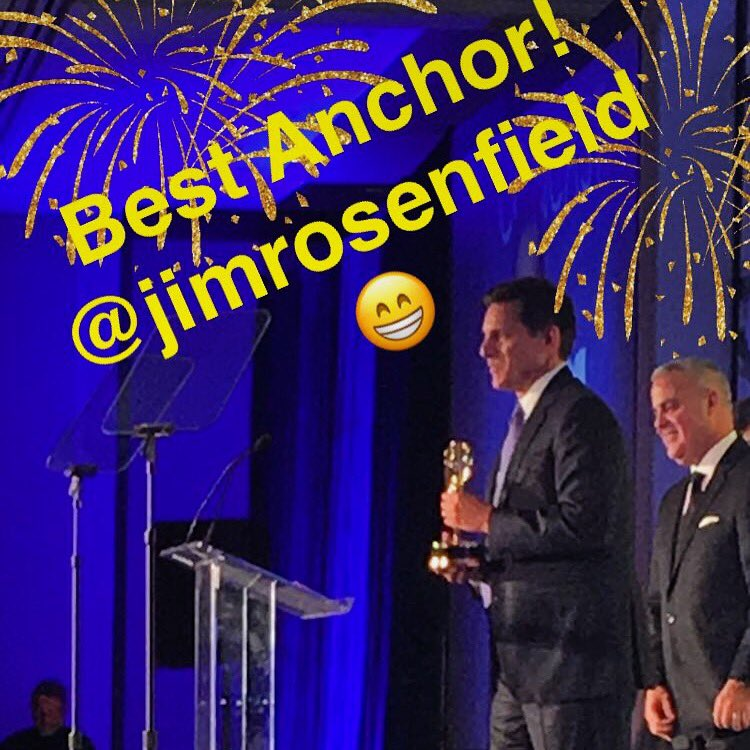 Congrats @jimrosenfield on your EmmyMA win for Best Anchor! @emmymidatlantic
