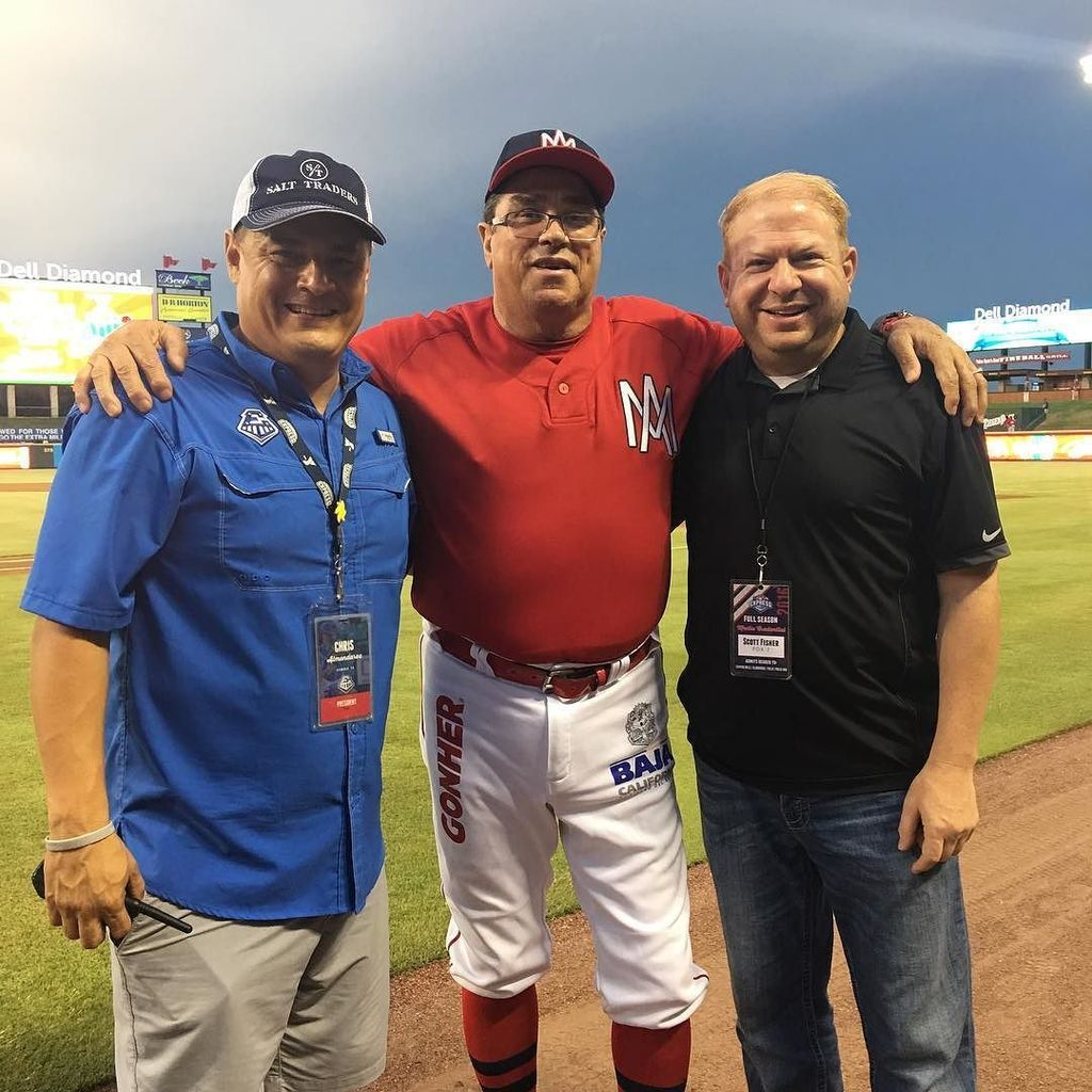 Scott Fisher Says: Mexican Baseball Fiesta! @rrexpress @express_pres With Mario Mendoza of the