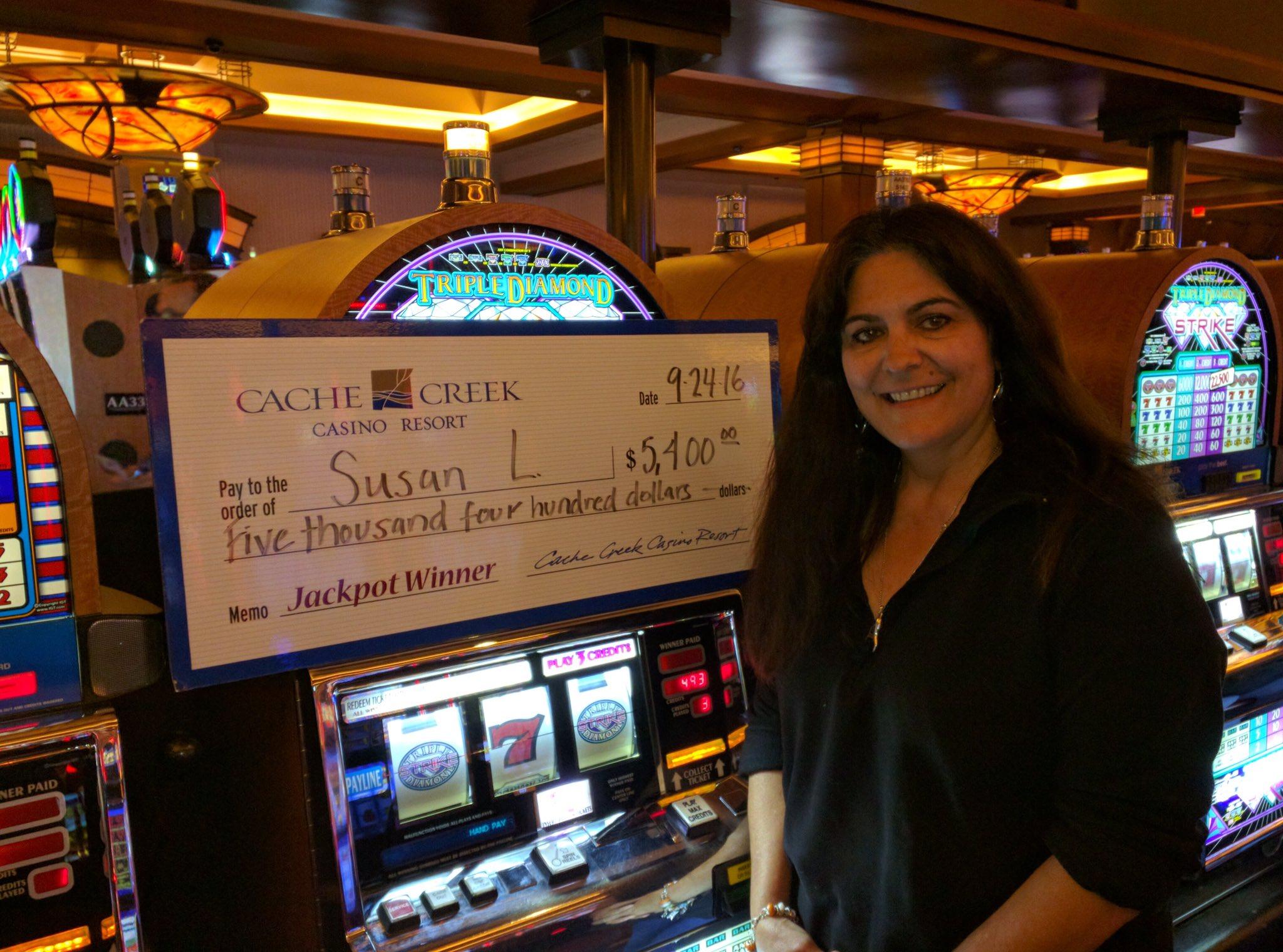 Cache creek casino winners