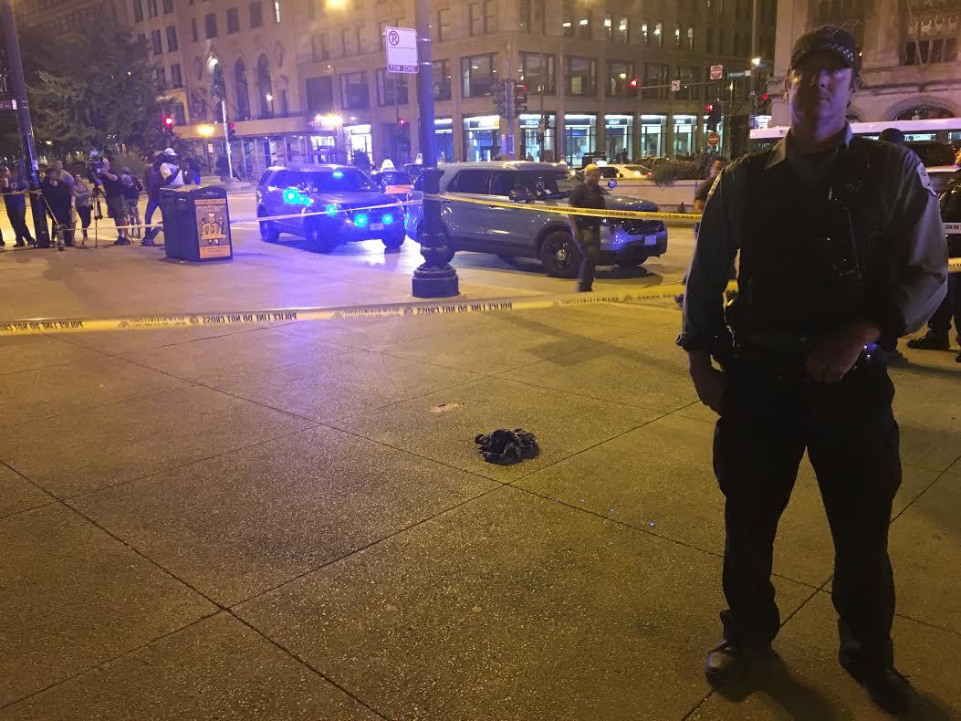 Person shot near Millennium Park