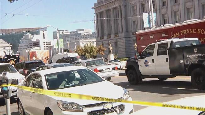 Standoff with armed man prompts evacuation of San Francisco Civic Center