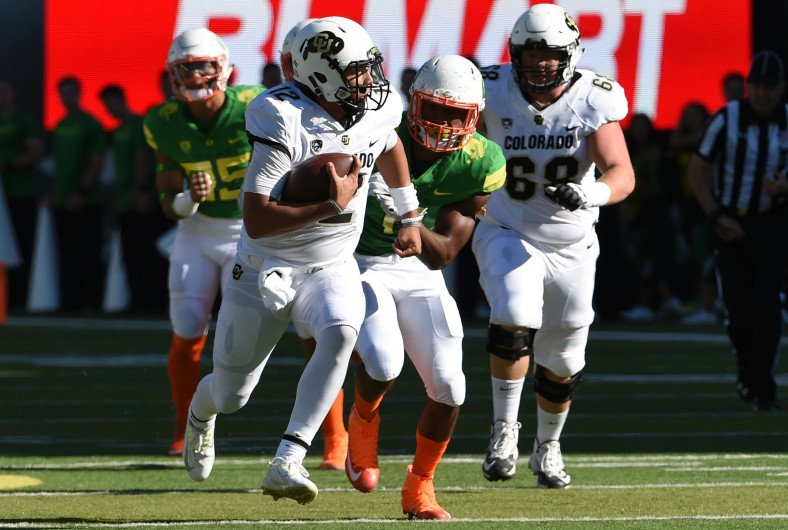Colorado Buffaloes upset Oregon on late interception from Ahkello Witherspoon