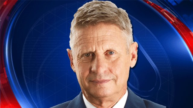 Libertarian Presidential Candidate Gary Johnson holds rally in Austin