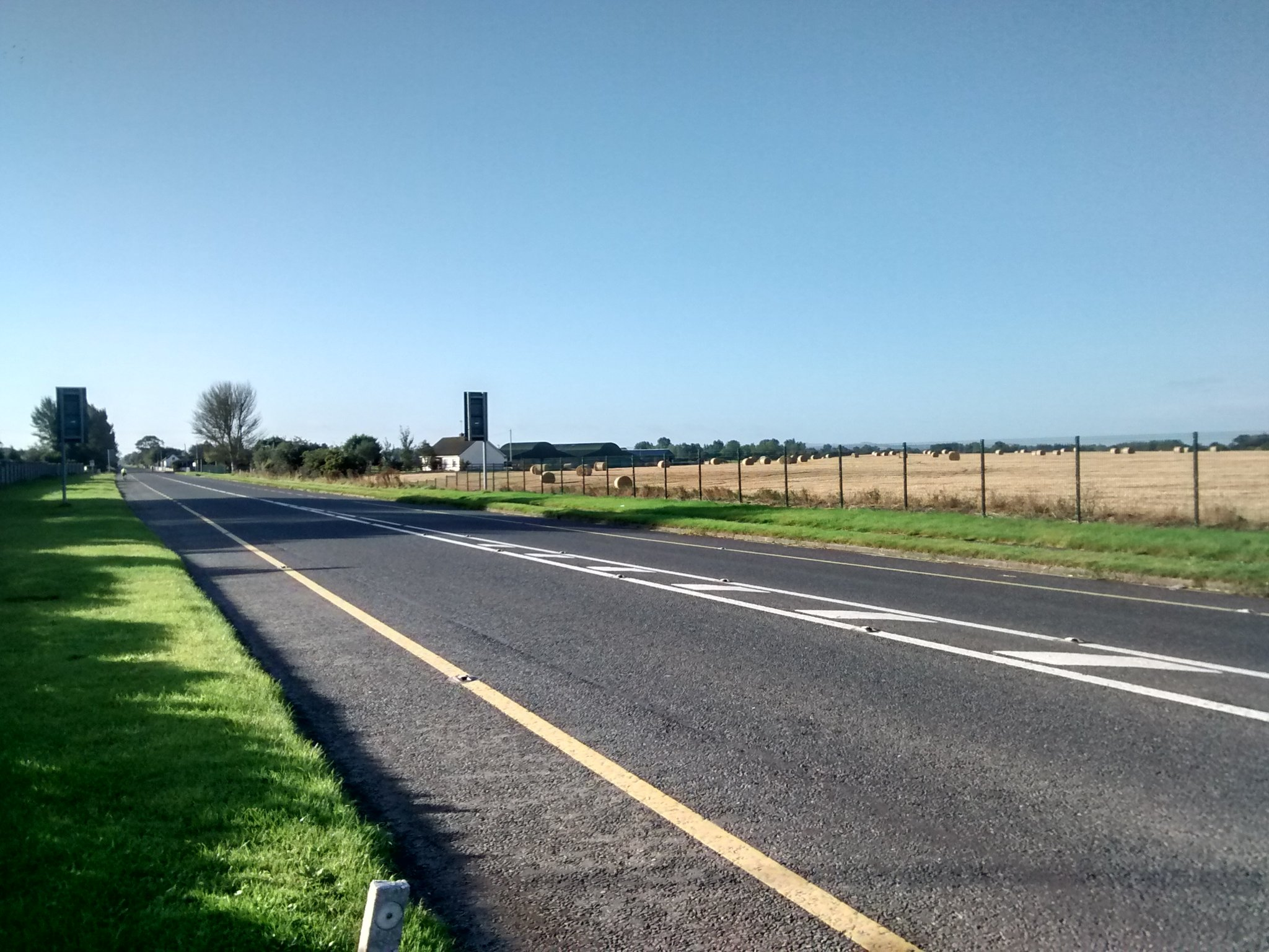 Road out from Dundalk