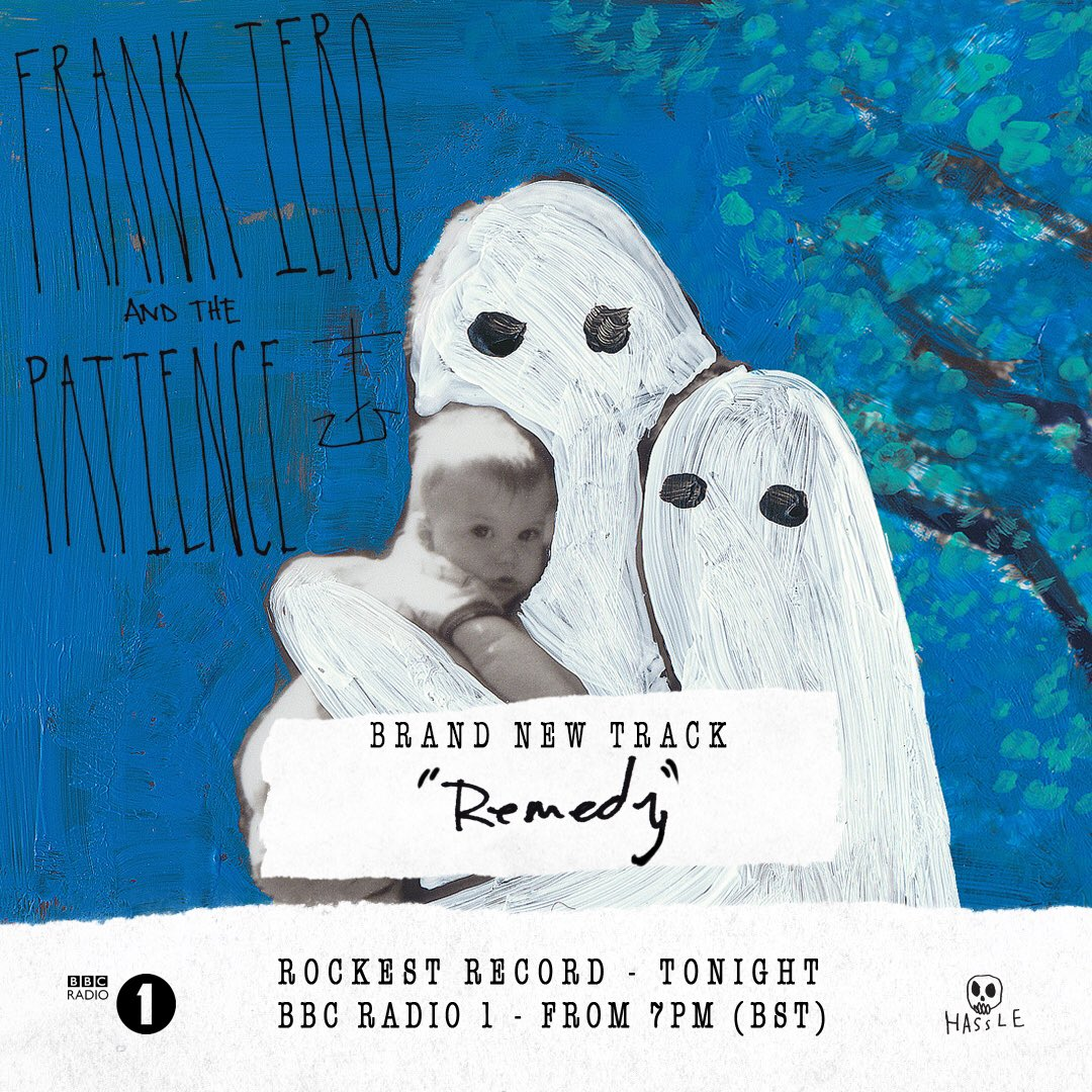 Who's ready for the new @FrankIero and the Patience track? 'Remedy' premieres on @Radio1RockShow tonight from 7PM! https://t.co/YYhCXtQ0Yu