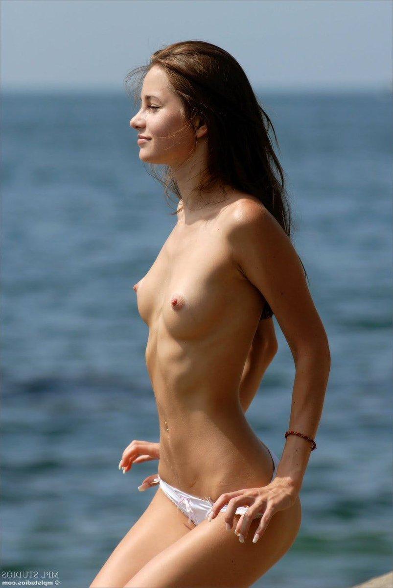 Skinny Teen Topless