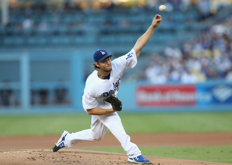 Clayton Kershaw pitches seven shutout innings as Dodgers roll Rockies