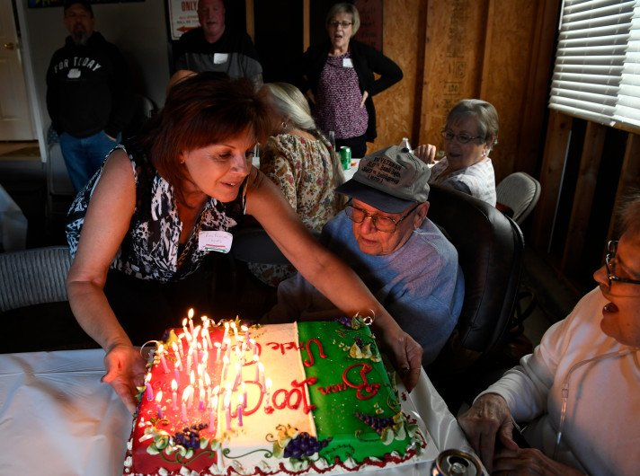Colorado World War II vet celebrates his 100th birthday