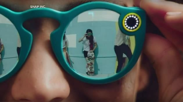 Social media app Snapchat is introducing video-recording glasses called Spectacles.