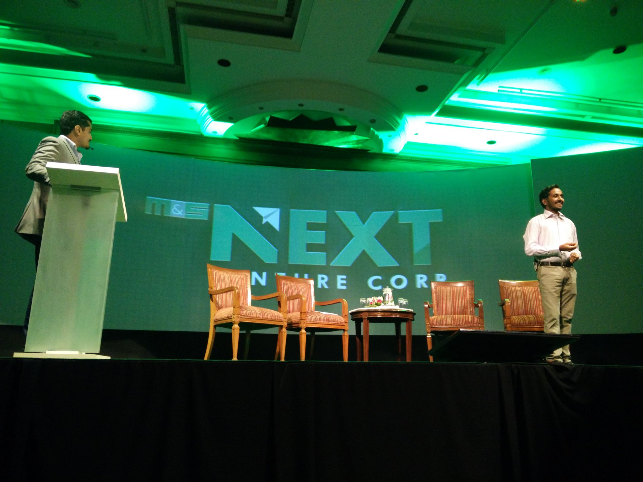 ".@mnsNEXT launches the NEXT Launchpad at #NextGrowthConclave ""NEXT IS YOU"" https://t.co/TxvNcJInnz"