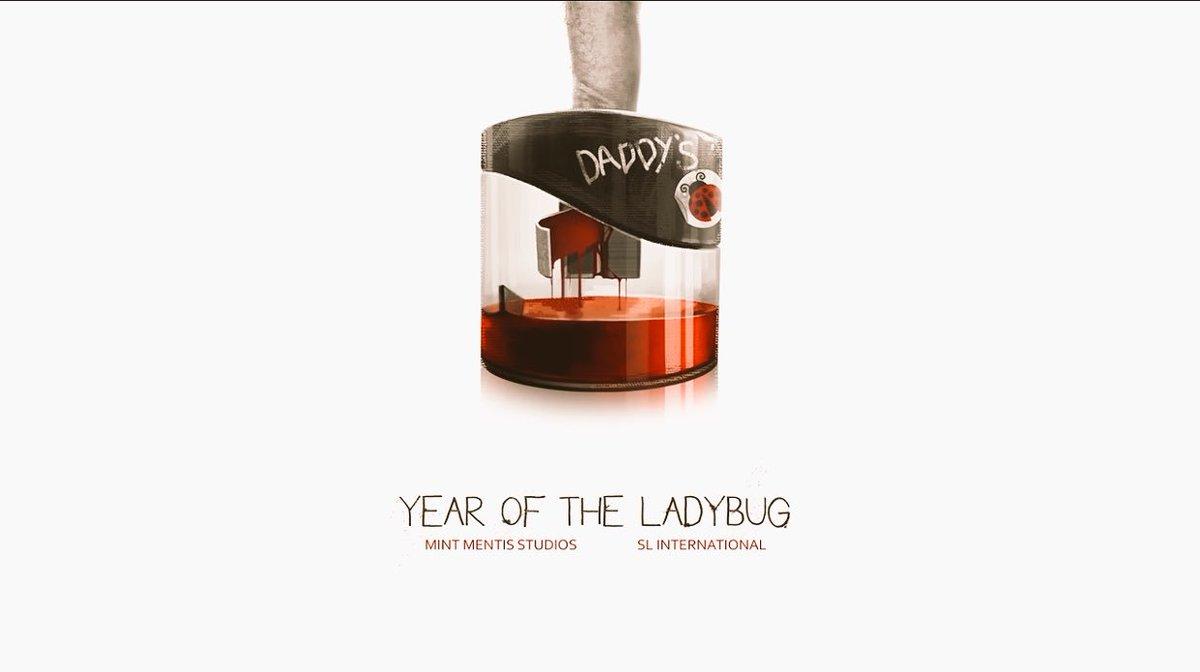 「Year Of The Ladybug」 こう言う変態チックなデザインのゲーム素晴らしすぎて興奮する。 続く https://t.co/cTqQgmDY6o