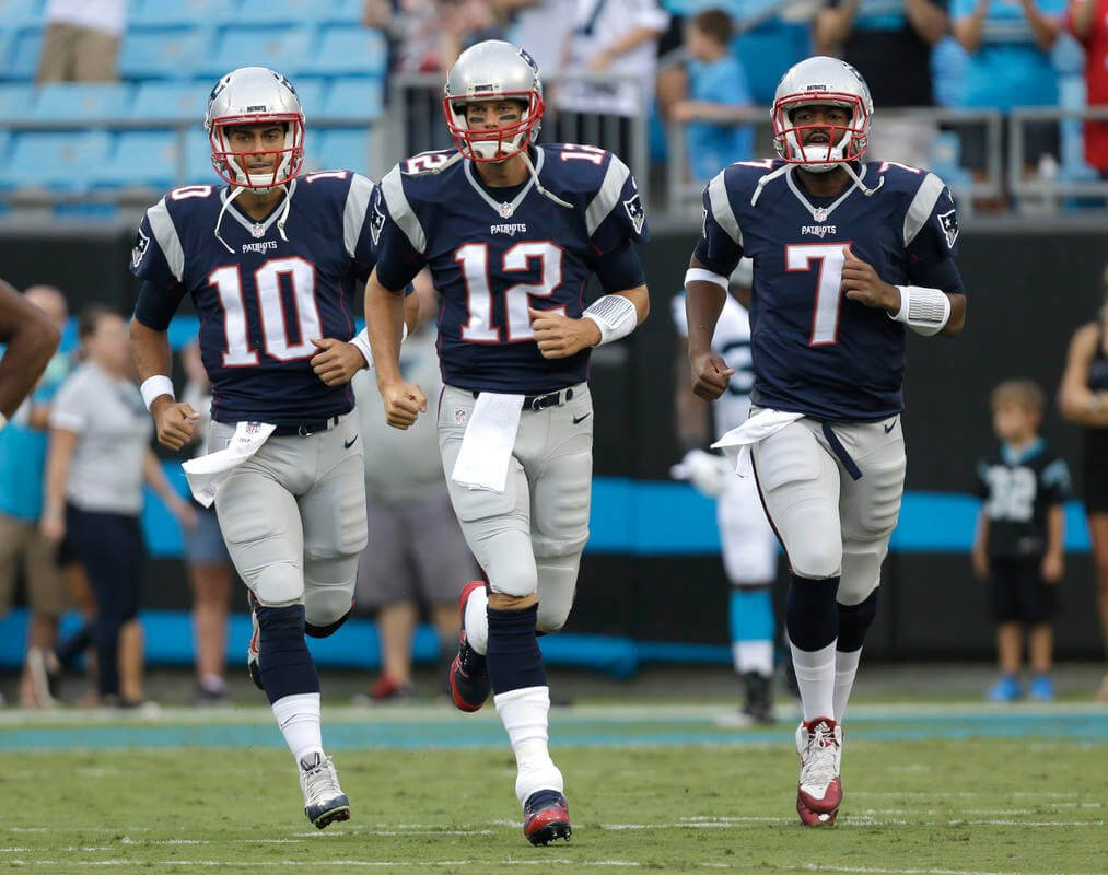 Options around for Tom Brady and Jimmy Garoppolo