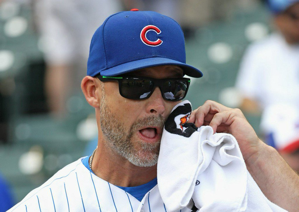 Cubs bring retiring catcher Ross to tears with Wrigley tribute