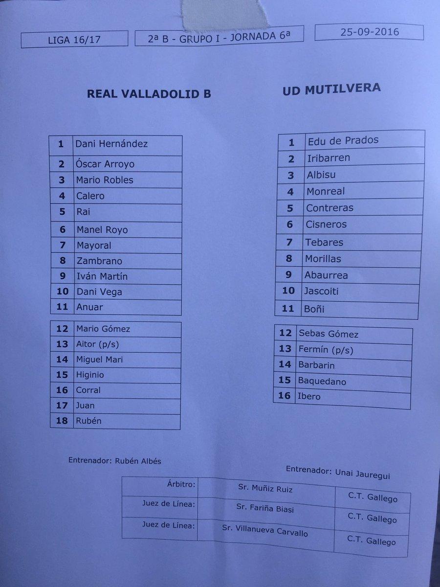 Real Valladolid B - Temporada 2016/17 - 2ª División B Grupo I - Página 6 CtMNiK9WgAAcNGs