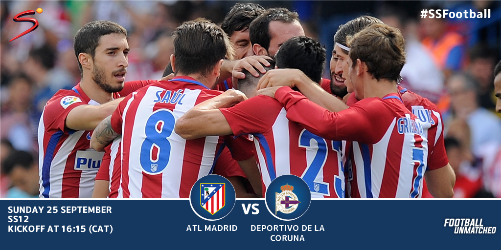 Atletico Madrid vs Deportivo La Coruna