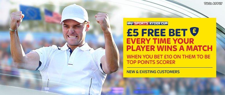 Skybet Ryder Cup Betting Bonus