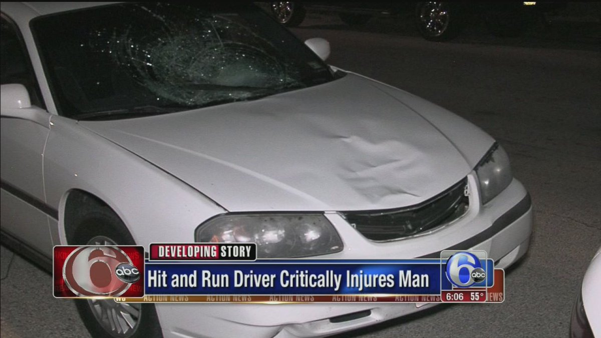 Man critically injured in Rhawnhurst hit-and-run
