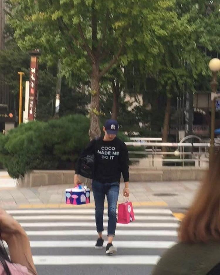 TVXQ Changmin yesterday. cr. to owner https://t.co/IPnWj94VkI