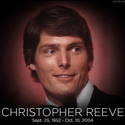 Today we're remembering actor Christopher Reeve, who was born on this day in 1952.