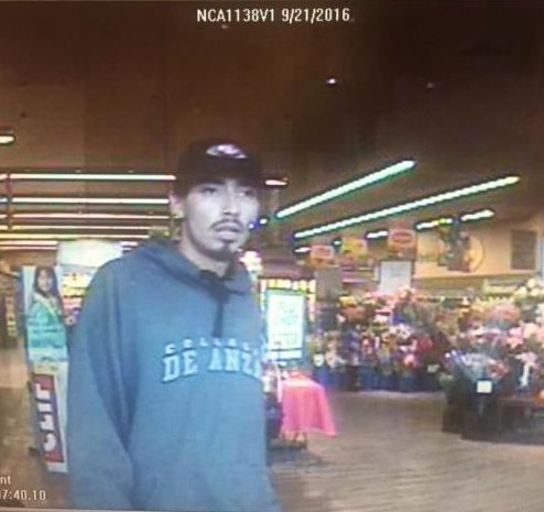 Police looking for this man in attempted purse snatching at Belmont Safeway