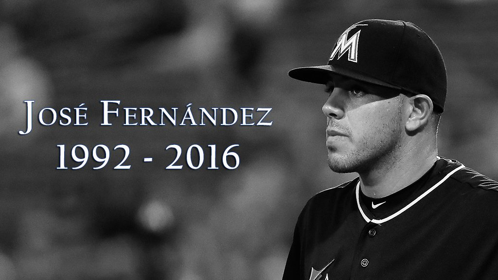 We are stunned and devastated by the tragic news that Jose Fernandez, 24, has died in a boating accident.…http://atmlb.com/2d9O0a1 https://t.co/o5OgVnKc5y